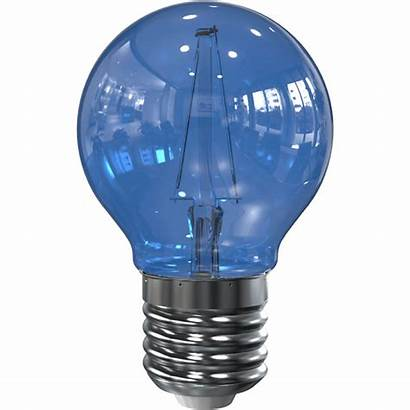 Led Blauw Lamp E27 G45 Filament Tronix