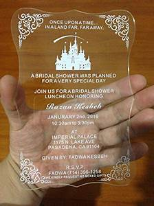 bestlife best selling acrylic scroll shape clear wedding With cost of 150 wedding invitations