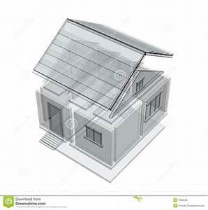 croquis 3d d39une maison images stock image 7665224 With croquis d une maison