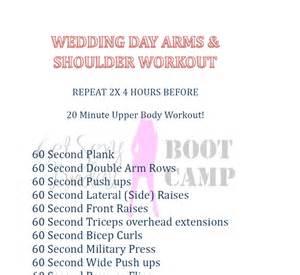 wedding workout wedding workouts