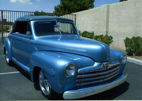 1946 Ford Deluxe Custom Convertible