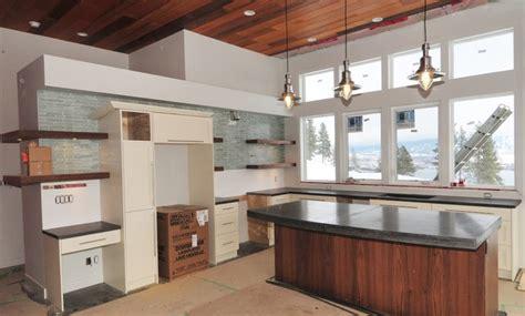 modern contemporary kitchen cast concrete countertops modern kitchen 4190