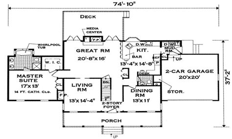 large family house plans extended family house plans
