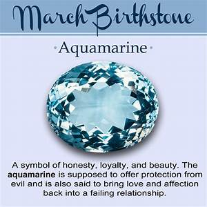 March Birthstone // History, Meaning, & Lore | Gemstones ...