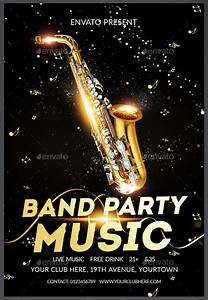Make Your Own Flyers 24 Band Flyer Templates Apple Pages Ms Word Publisher