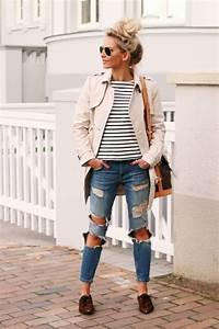 Zerrissene jeans damen