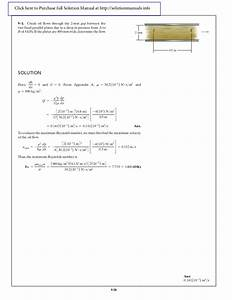 Solution Manual For Fluid Mechanics Russell C  Hibbeler