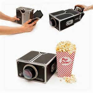 Cell Phone Projector Box