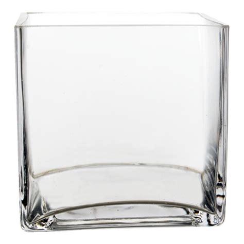square glass vase 6 cube vase gcb041 cube vase modern vase gift
