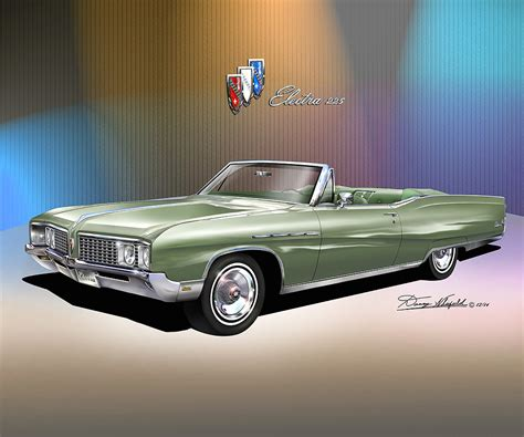 68 Buick Electra 225 by 1968 Buick Electra 225 Item B68 E 7 Print By