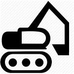Icon Clipart Construction Heavy Machinery Transparent Angle