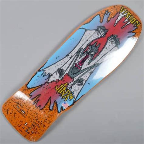 Vision Skateboards Original Jinx Reissue Updated Concave