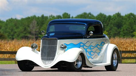 1934, Ford, Coupe, Street, Rod, Cars Wallpapers HD ...