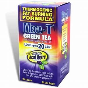 Mega-t Green Tea Supplement - Burns Belly Fat