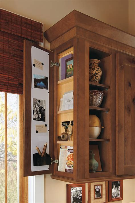 Wall Message Center Cabinet   Homecrest Cabinetry