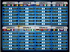 Brasil 2014 Fixture Mundial Viarosariocom