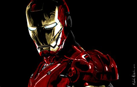 Iron Man Artwork by Iron Man By Ryster17 On Deviantart