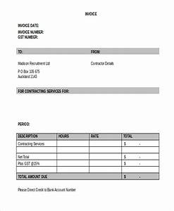 Billing Format For Construction Free 10 Sample Contractor Invoice Forms In Ms Word Pdf