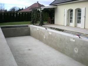 photo quotdalle beton autour de la piscinequot house project With dalle beton autour piscine