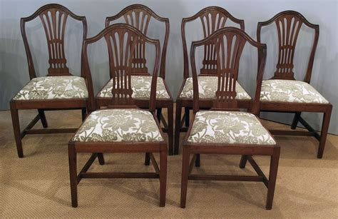 set   antique mahogany dining chairs antique dining