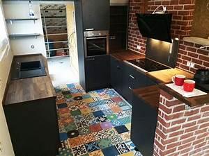 Fliesen Küche Boden : bodenfliesen zementfliesen spanische fliesen patchwork bunt ~ Markanthonyermac.com Haus und Dekorationen