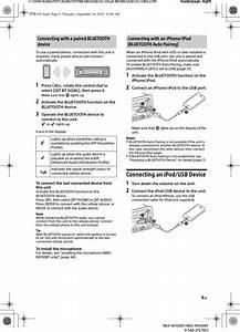 Mexn5100bt Bluetooth Audio System User Manual Mex