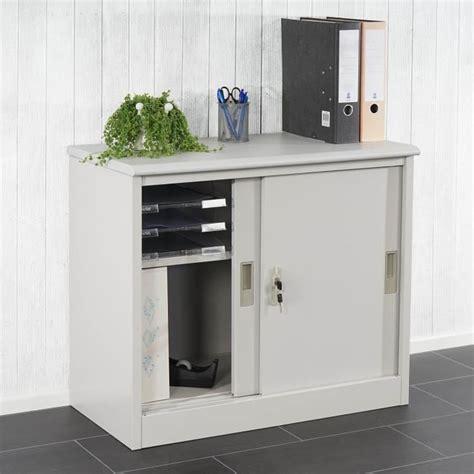 meuble bureau porte coulissante armoire de rangement pas cher maison design bahbe com