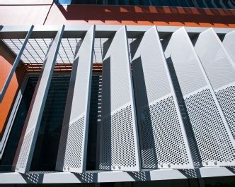 polaris series perforated metal screens louvreclad pty