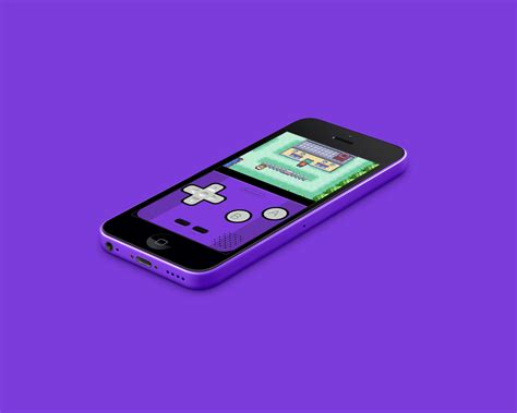 purple iphone 5c iphone 5c gba purple by vitalovitalo on deviantart