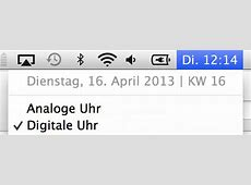 Tipp Kalenderwochen auf Mac und iOSGeräten anzeigen