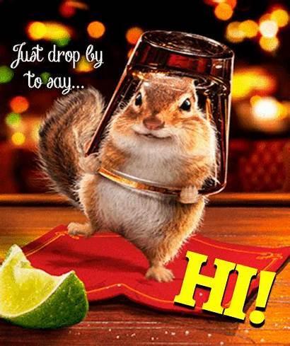 Hi Ecard Very Cards Squirrel Ecards Happy