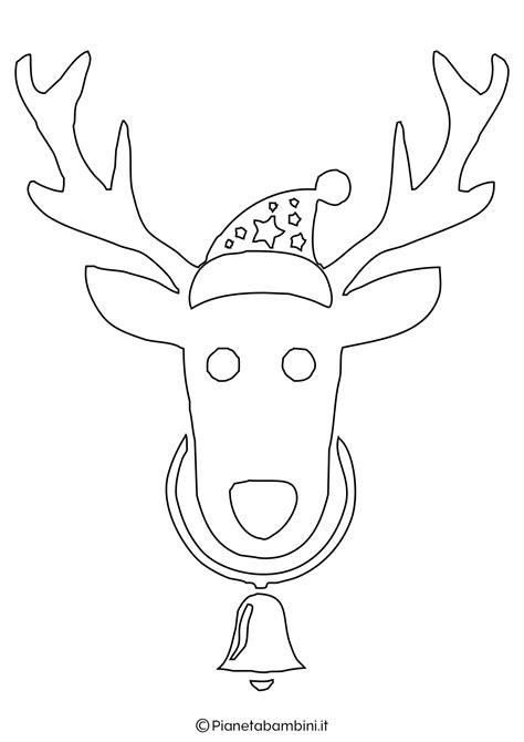 sagome  renne da stampare  ritagliare pianetabambiniit