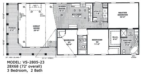 Best Floor Plans by Clayton Wide Homes Floor Plans House Mobile