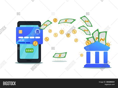 money transfer vector photo  trial bigstock
