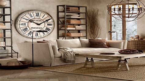 Luxury Large Living Room Wall Clock Fashion E Quartz Round Metal Drum Coffee Table Arts And Crafts Diy Hairpin Leg Pier 1 Imports Lift Top Calgary Country Tables End White Circle Glass Small