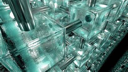 System Wallpapers Glass Device Systems Ice Cube