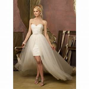 short wedding dresses with long trains pictures reference With short wedding dresses with train