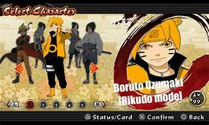 Boruto Uzumaki Rikudo Mode Naruto Impact Mod Storm4