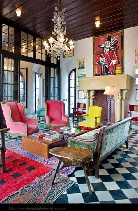 living rooms  stunning color pops messagenote
