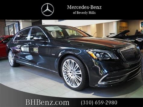 The name pays homage to the past with a luxury brand. Used 2020 Mercedes-Benz S-Class Maybach S 650 Sedan RWD ...