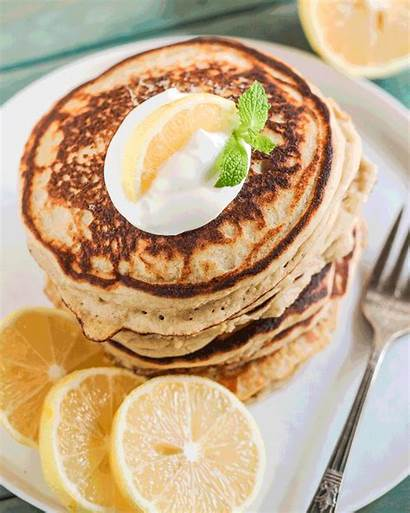 Lemon Ricotta Buttermilk Healthy Pancakes Sugar Scratch