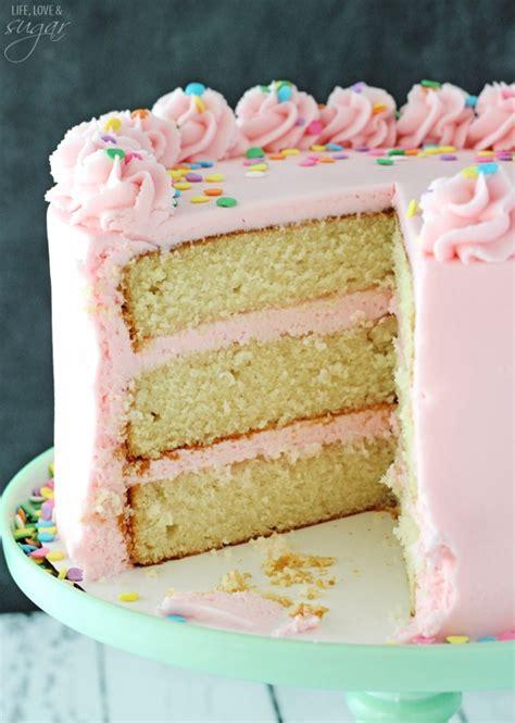 moist vanilla cake recipe moist and fluffy vanilla cake life love and sugar