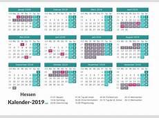 FERIEN Hessen 2019 Ferienkalender & Übersicht