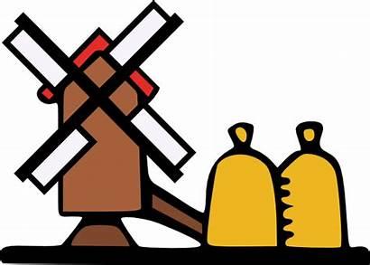 Clipart Grind Farm Windmill Farming Svg Tools