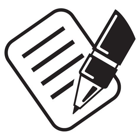 Stift Und Zettel by Signing Clipart Clipground