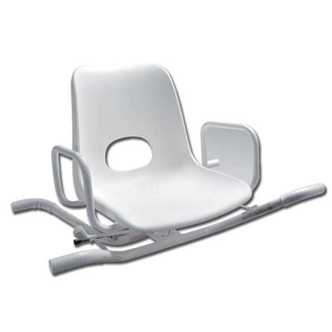 sedia per vasca da bagno sedia per vasca da bagno in acciaio girevole a 360 176 gima