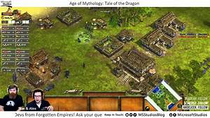 Age Of Mythology  Tale Of The Dragon Launch Stream  Feat