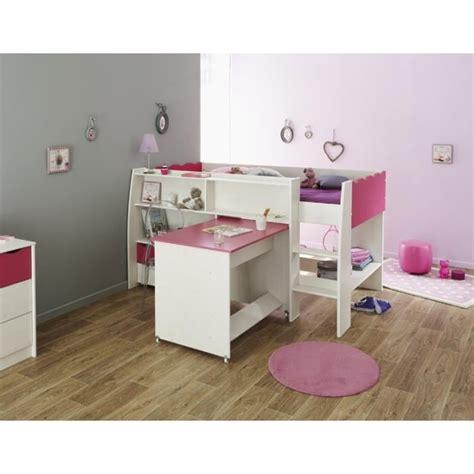 chambre lilou lilou lit enfant combiné décor pin et l116 cm achat