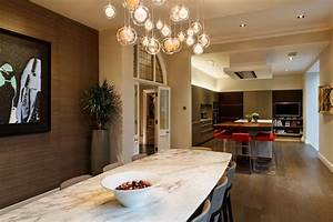 Transitional Light Fixtures Dining Room Contemporary With
