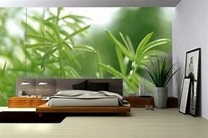 Pflanzen Im Schlafzimmer : fototapete die spezielle art wandtapete ~ Indierocktalk.com Haus und Dekorationen